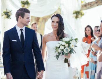 Claudia's wedding day