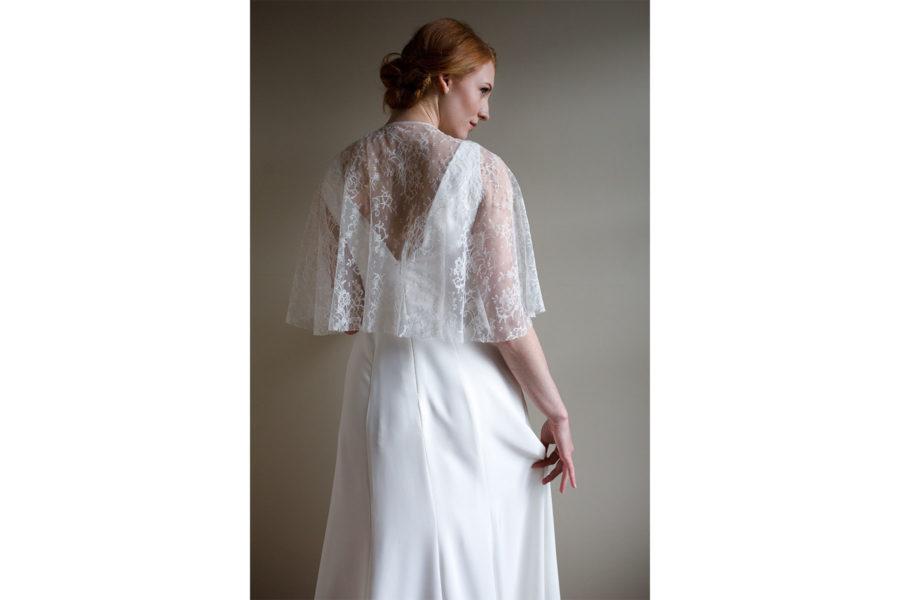asrai cape lisa lyons bridal