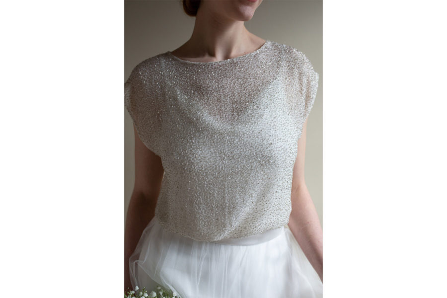 Lana top Lisa Lyons Bridal