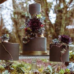 Winter whimsical wedding