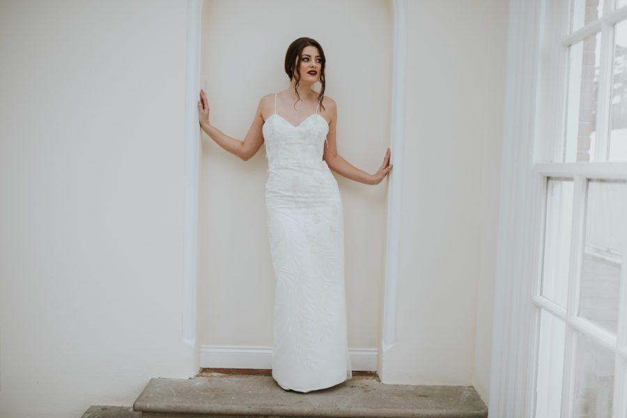 Mira dress Lisa Lyons Bridal Spirit collection