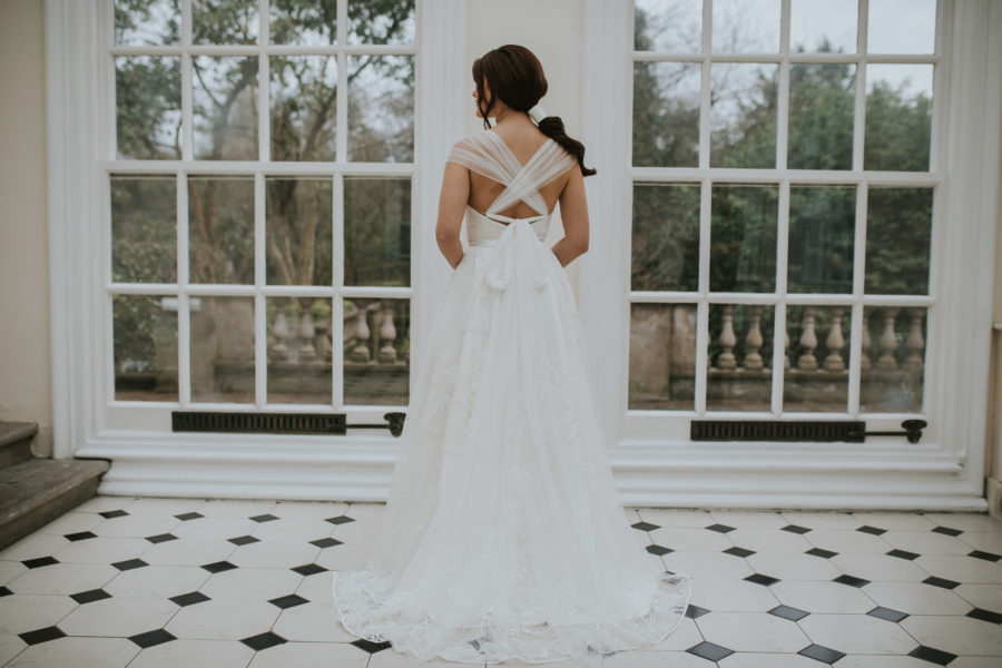 Hallé dress Lisa Lyons Bridal Spirit collection