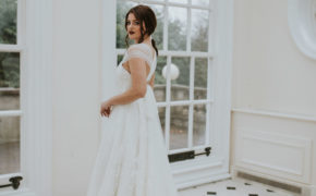Hallé dress Lisa Lyons Bridal Spirit collection