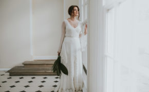 Katrina separates Lisa Lyons Bridal Spirit collection