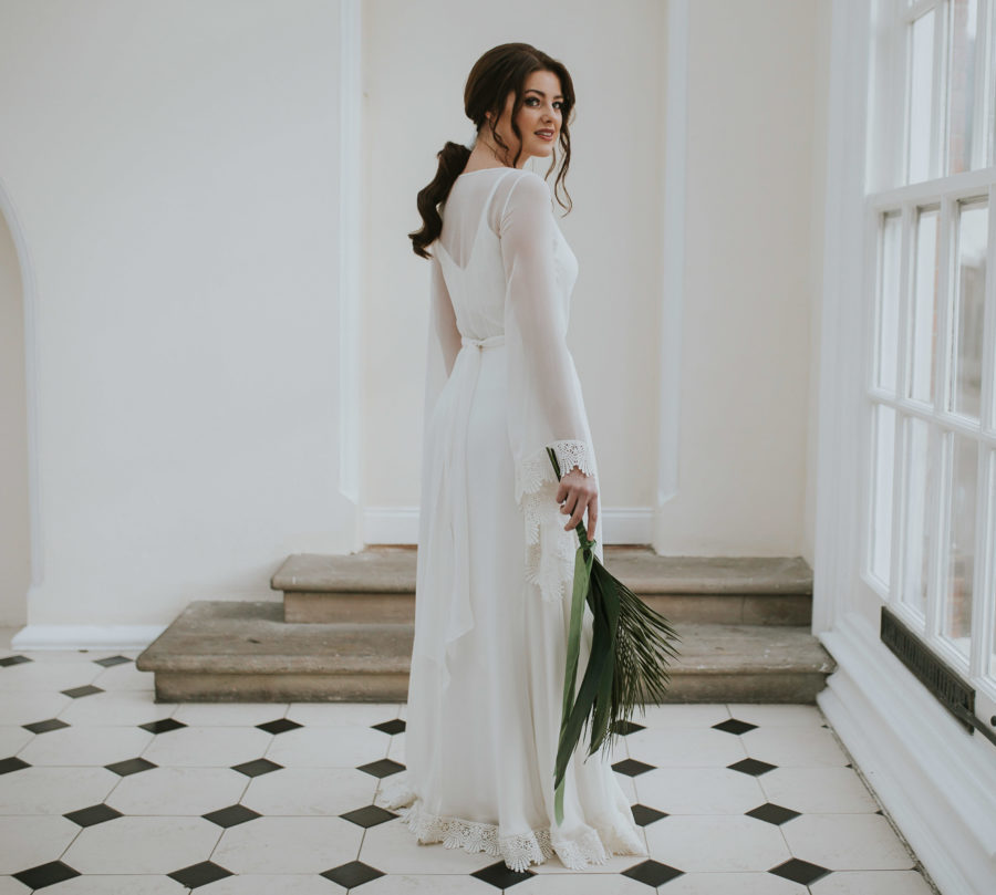 Katrina separates Lisa Lyons Bridal Spirit collection