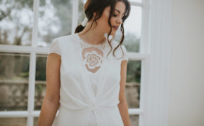 Amelie dress Lisa Lyons Bridal Spirit collection