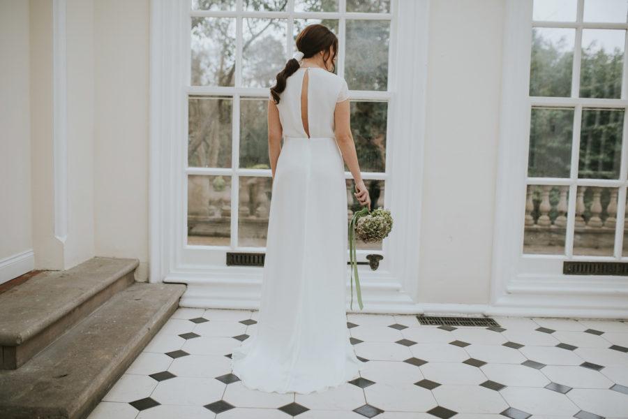 Amelie dress Lisa Lyons Bridal Spirit collection