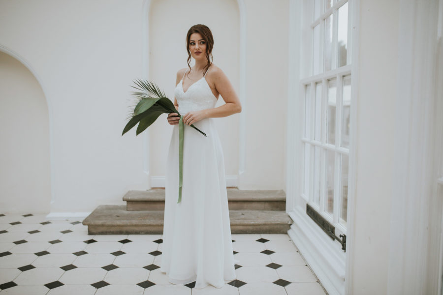 Helena dress Lisa Lyons Bridal Spirit collection