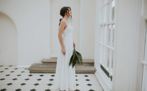 Helena dress Lisa Lyons Bridal Spirit collection