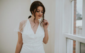 Sara dress Lisa Lyons Bridal Spirit collection