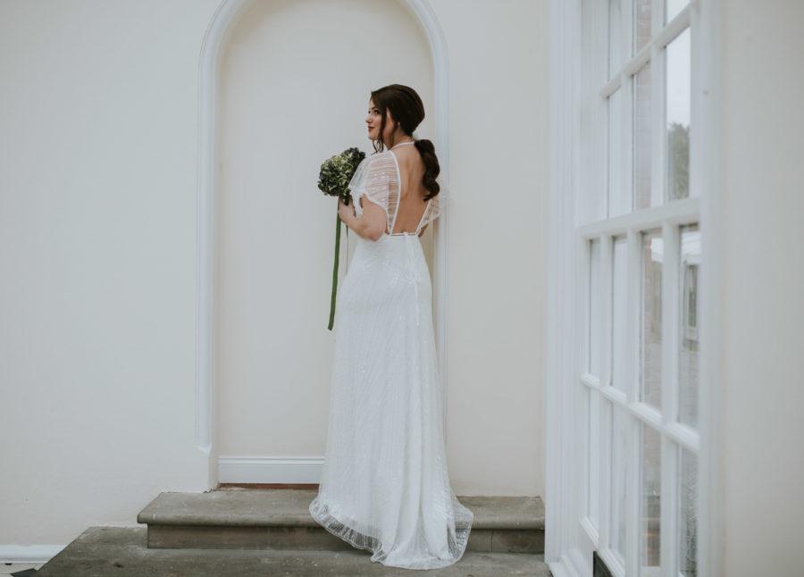 Sara dress Lisa Lyons Bridal Spirit collection