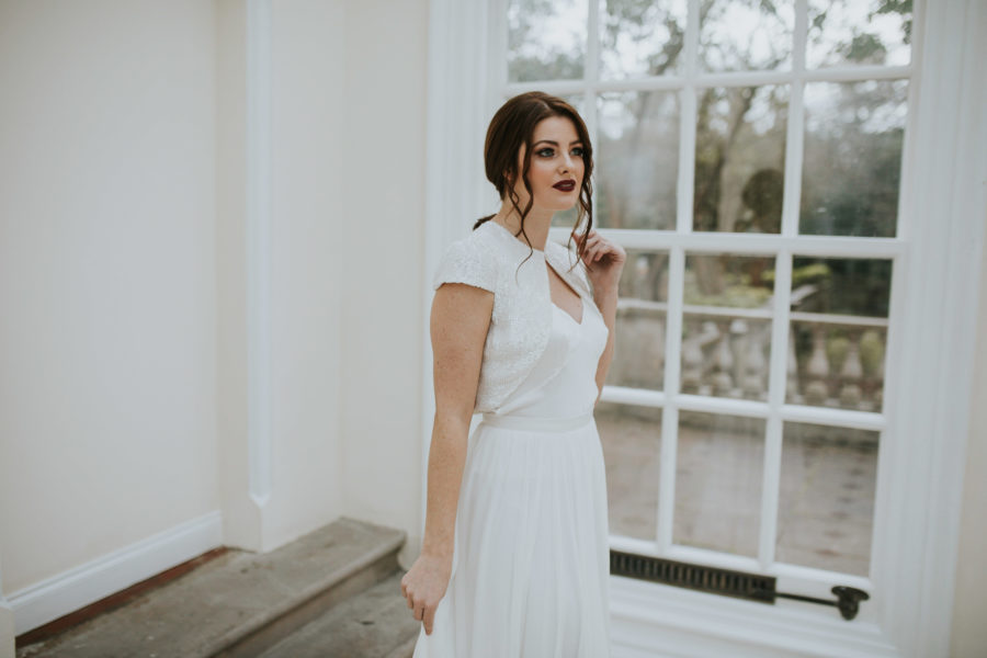 Ester top Lisa Lyons Bridal Spirit collection